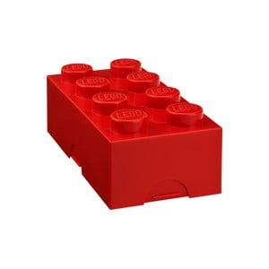 Červený desiatový box LEGO®