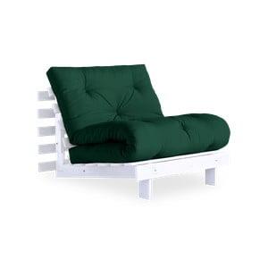 Variabilní křeslo Karup Design Roots White/Dark Green