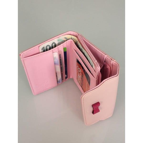 Malá peňaženka Charm, ružová