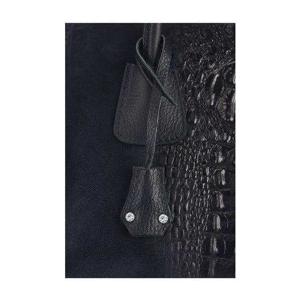 Kožená kabelka Giorgio Costa 15016 Blue