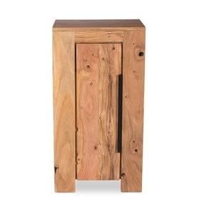 Nízka kúpeľňová skrinka z akáciového dreva Woodking Wellington