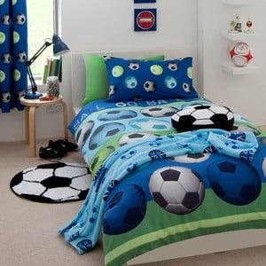Obliečky Football Blue, 135x200 cm