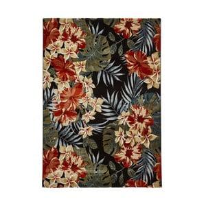 Koberec Think Rugs Tropics Black & Multi, 160×220 cm