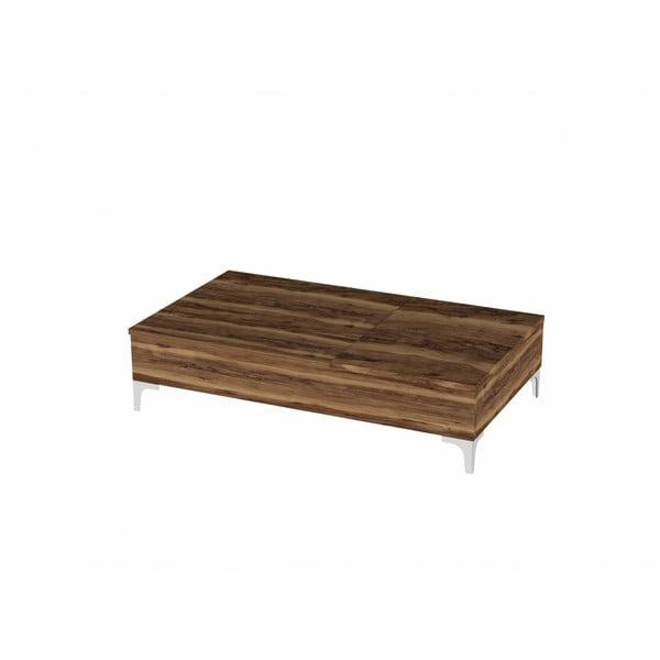 Rozkladací konferenčný stolík v dekore orechového dreva Esinti