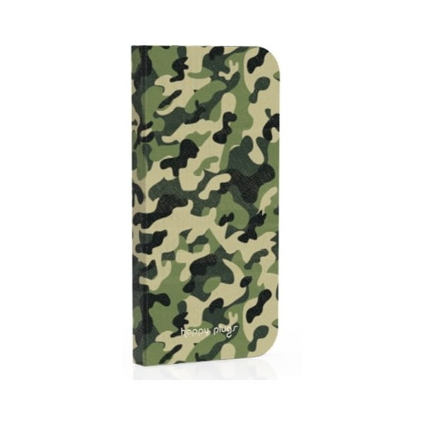 Preklápací obal Happy Plugs na iPhone 5 Camouflage