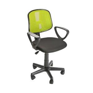 Zelená kancelárska stolička na kolieskach Versa Office