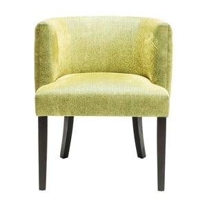 Zelená stolička Kare Design Theater