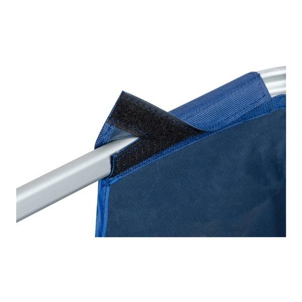 Modrý skladací kôš na bielizeň Wenko Solo