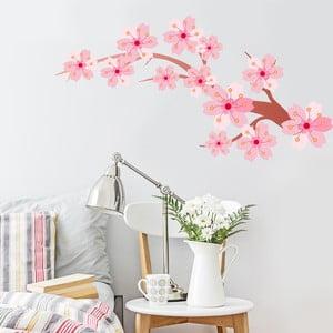Samolepka Cherry Blossom, 70x50 cm
