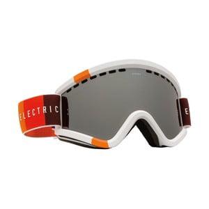 Pánske lyžiarske okuliare Electric EGV Orange Blast White - Bronze Silver, veľ. M