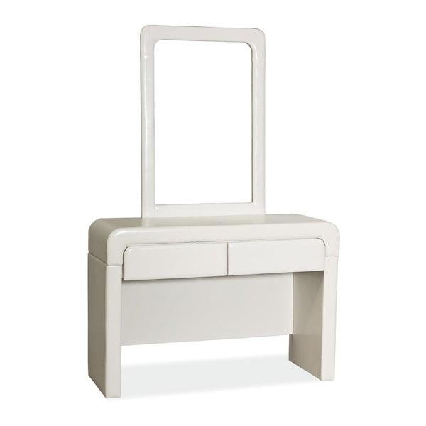 Kozmetický stôl so zrkadlom White Mirror