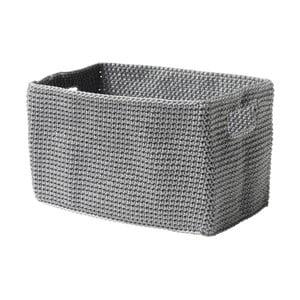 Košík Confetti Grey, 22 cm