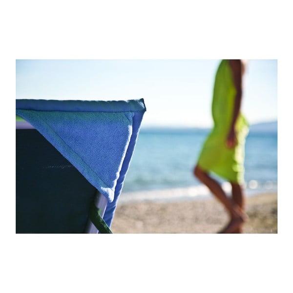 Modrá plážová osuška srohovýmivreckami Terra Nation One Moe, 90x180cm