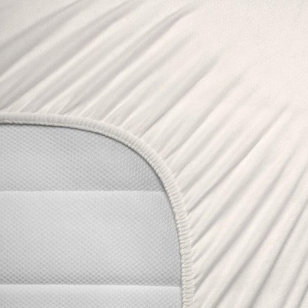 Krémová elastická plachta Homecare, 190-200 x 200-220 cm