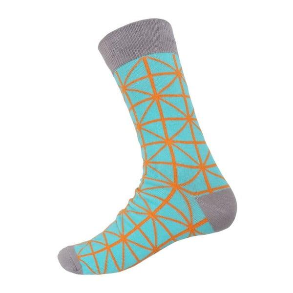 Ponožky Grey Ornament, veľkosť 40-44