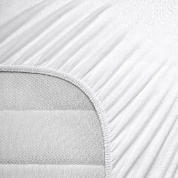 Elastická plachta Hoeslaken 160-180 x 200 cm, biela