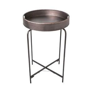 Kovový odkladací stolík Antic Line Fer, 72 cm