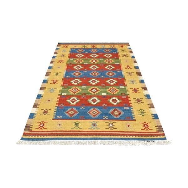 Ručne tkaný koberec Kilim Classic K38, 155x215 cm