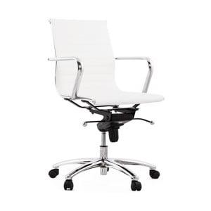Biela kancelárská stolička Kokoon Michelin
