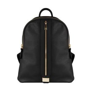 Čierny kožený batoh Maison Bag Lisa