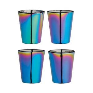 Sada 4 farebných pohárikov Kitchen Craft