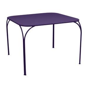 Fialový záhradný stolík Fermob Kintbury