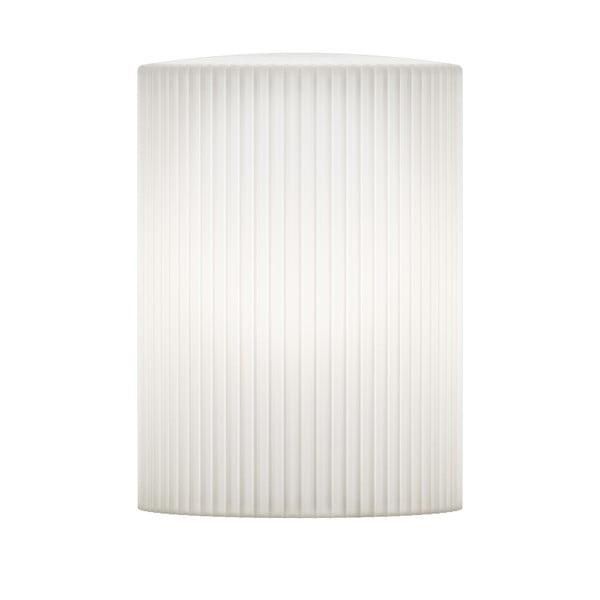 Biele stropné tienidlo VITA Copenhagen Ripples Cusp, Ø15 cm