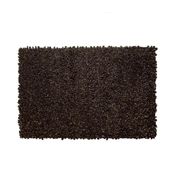 Koberec Velvet Black, 160x230 cm