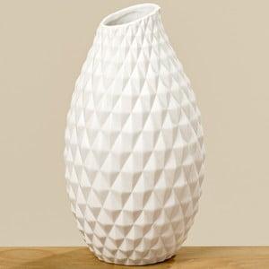 Biela kameninová váza Boltze Haddi