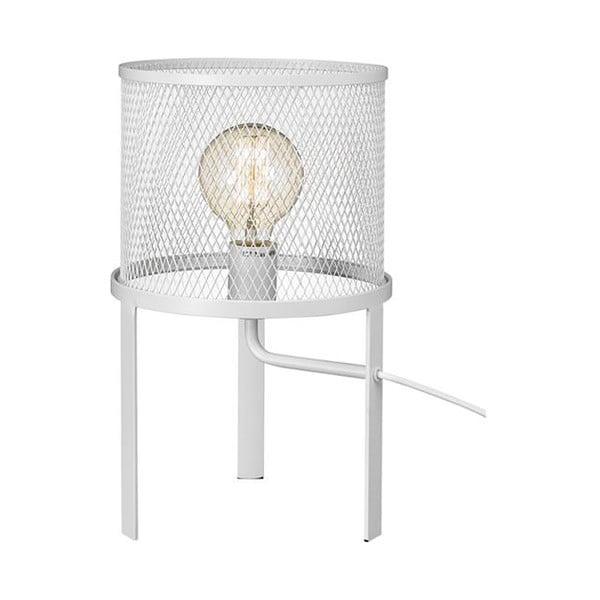 Biela stolová lampa Markslöjd Grid