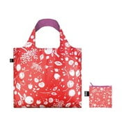 Skladacia nákupná taška skapsičkou LOQI Coral Bell