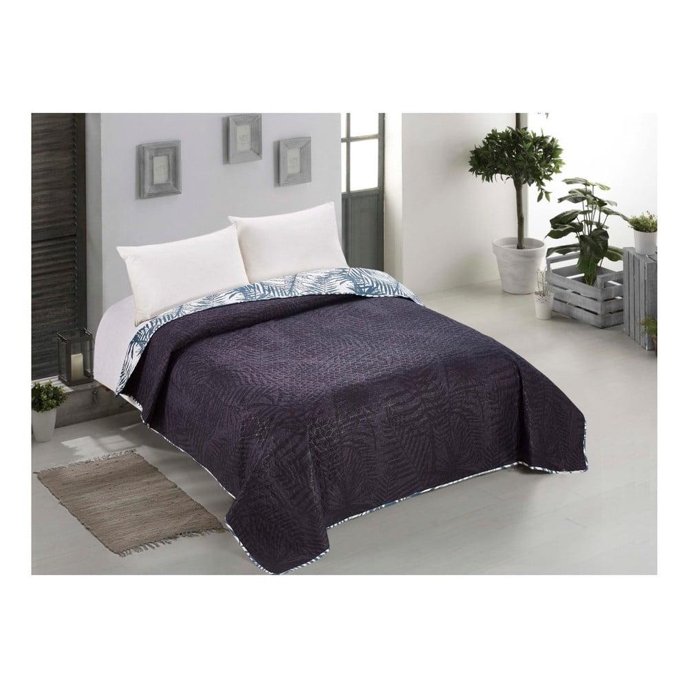 68452bdbec565 Obojstranná prikrývka cez posteľ z mikrovlákna AmeliaHome Bush, 170 x 270  cm ...