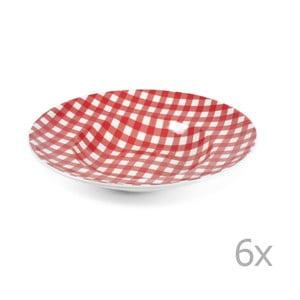 Sada 2 tanierov na cestoviny Livia 30.5 cm, červená