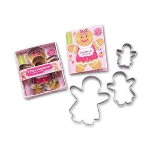 Sada 3 formičiek Cooksmart England Gingerbread Girl
