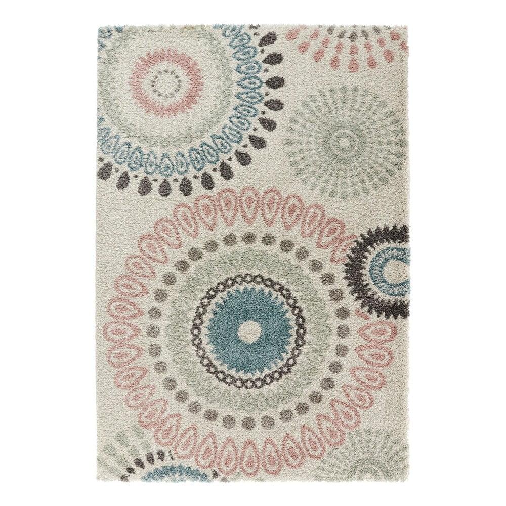 Krémový koberec Mint Rugs Allure Gallero, 80 x 150 cm
