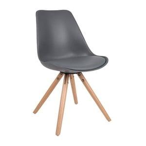 Tmavosivá stolička Tryck