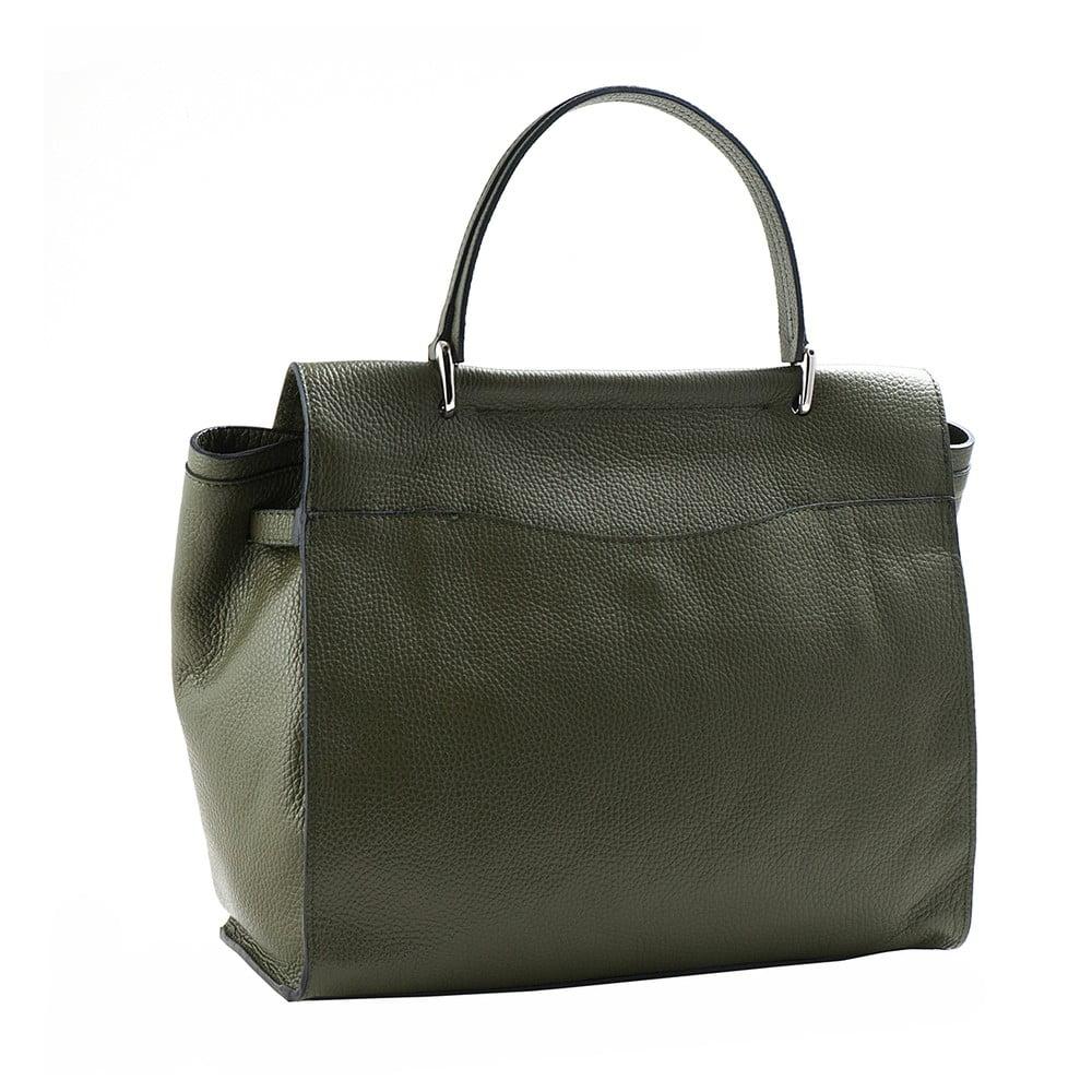 Zelená kabelka z pravej kože Andrea Cardone Estelle ... 1dadc78a440
