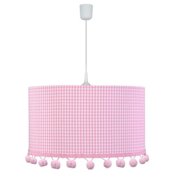 Závesné svietidlo Pink Pompom
