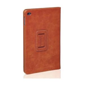 Koňakovohnedý kožený obal na iPad 2 Air Packenger