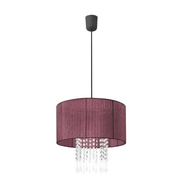 Stropná lampa Venecia, fialová
