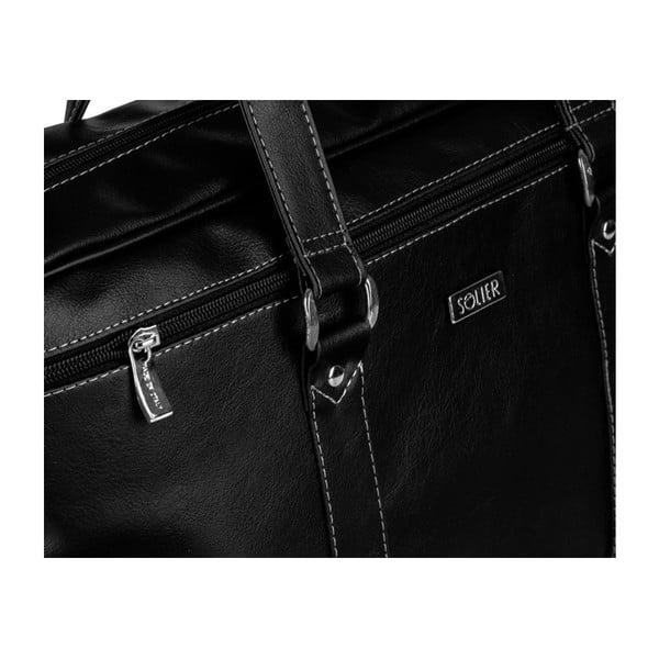 Pánska taška Solier S03 Black
