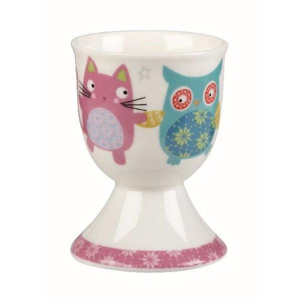 Set 4 ks stojanov na vajíčka Owl & Cat