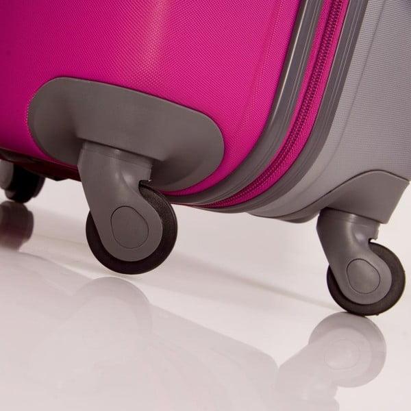 Sada 2 červených cestovných kufrov Tempo