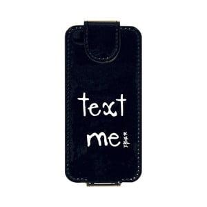 Puzdro na iPhone 5 Text Me