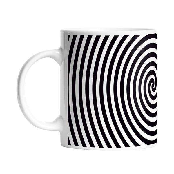 Hrnček Black Shake Circle Hypnosis, 330ml