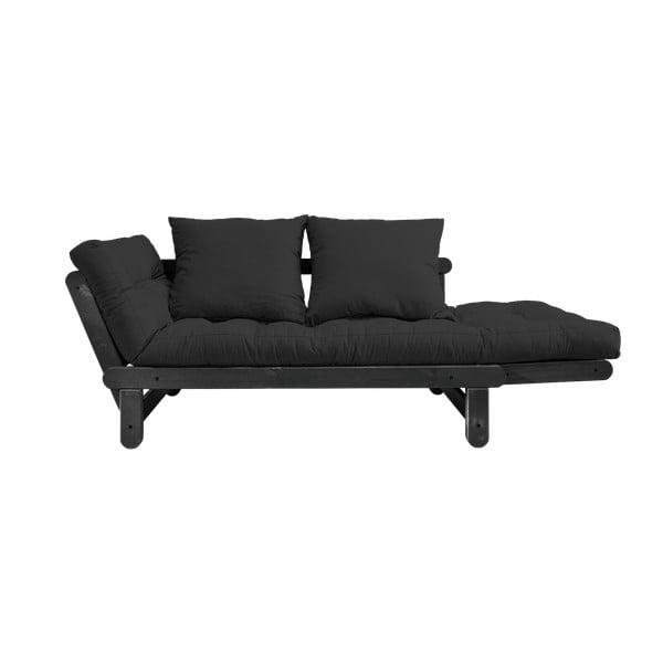 Rozkladacia pohovka Karup Design Beat Black/Dark Grey