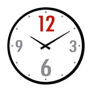 Sklenené hodiny Dvanáct, 34 cm