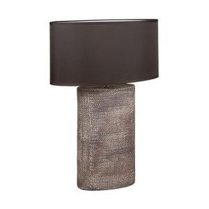 Hnedá keramická stolová lampa Santiago Pons Coastal, výška 71 cm