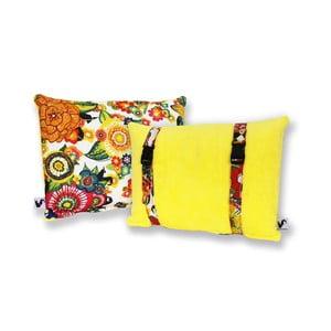 Vodeodolný, obojstranný vankúšik Dream Pillow Banana Jungle
