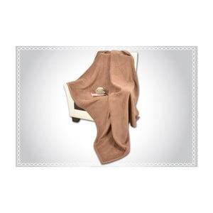 Bavlnená deka Rubin Kahve, 200×150 cm